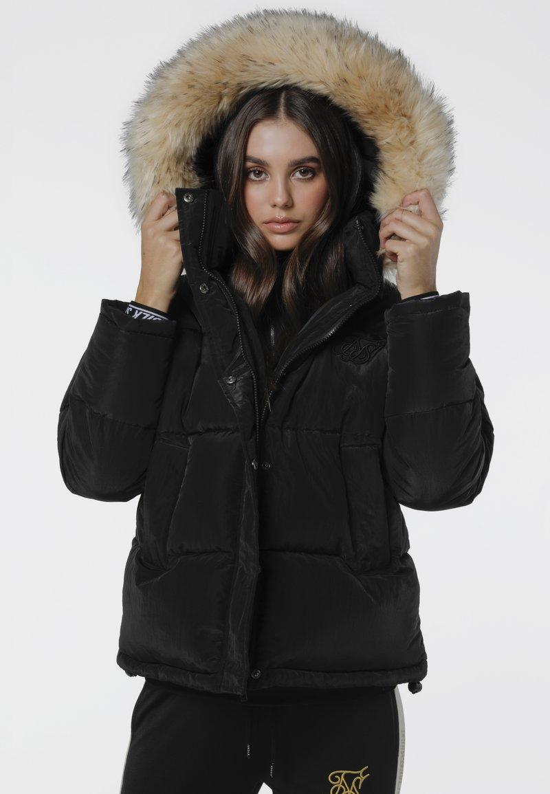 SIKSILK - Winter jacket - black