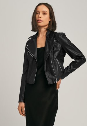 GAGA2 - Leather jacket - black