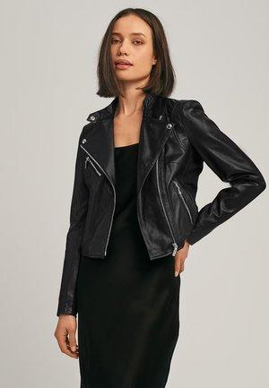 GAGA2 - Leren jas - black