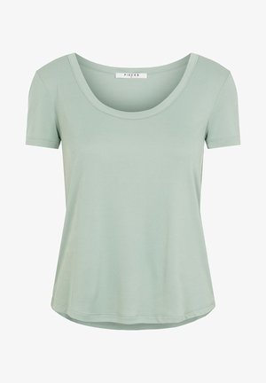 T-SHIRT MODALMISCHFASER - T-shirt basic - jadeite