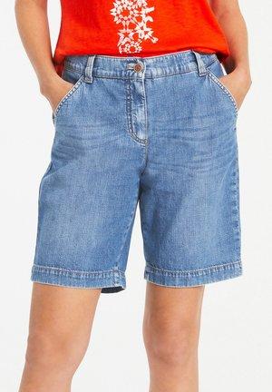 Denim shorts - blue denim mit use