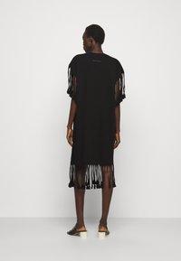 MM6 Maison Margiela - Jersey dress - black - 2