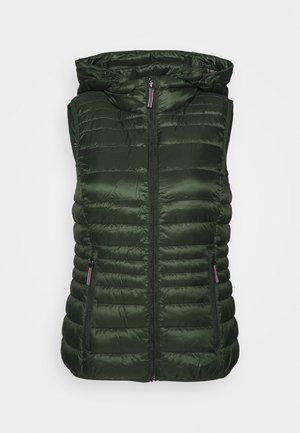 Weste - dark green