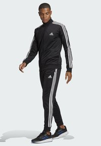 adidas Performance - Trainingspak - top:black/white bottom:black/white - 1