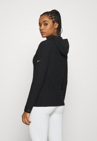 Nike Performance - Fleece jumper - black/metallic gold - 2