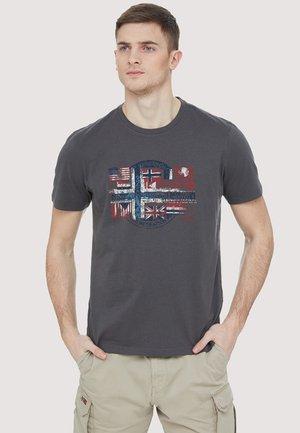SEY - Print T-shirt - grey