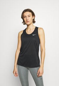Nike Performance - TANK - Funktionsshirt - black/white - 0