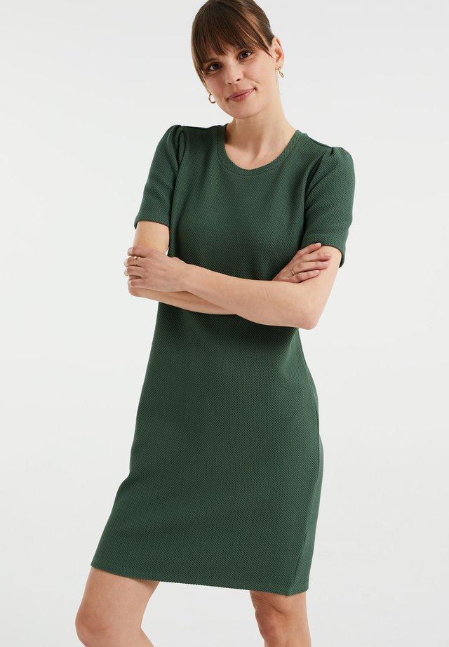 MET STRUCTUUR - Sukienka dzianinowa - mint green