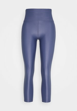 HIGH SHINE 7/8 WORKOUT LEGGINGS - Leggings - crown blue
