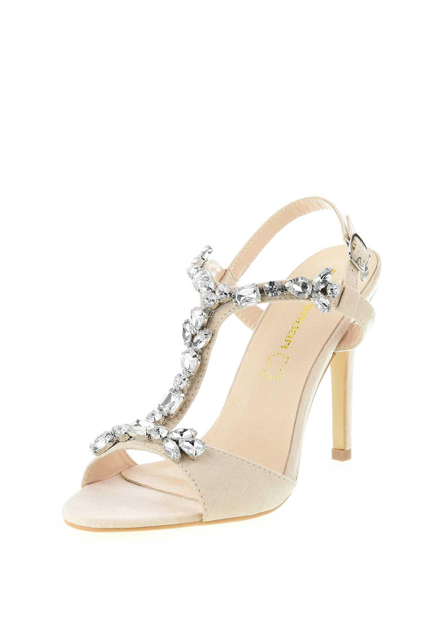 PRIMA MODA VAGLIODI High Heel Sandalette beige/sand
