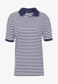 french navy/white