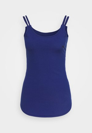 STUDIO TANK - Top - elektro blue