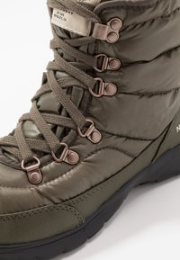 The North Face - THERMOBALL LACE II - Winter boots - new taupe green/vintage white - 5