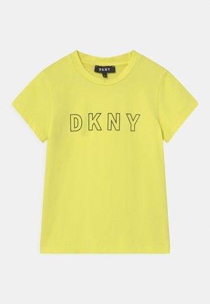 T-shirts print - citrine