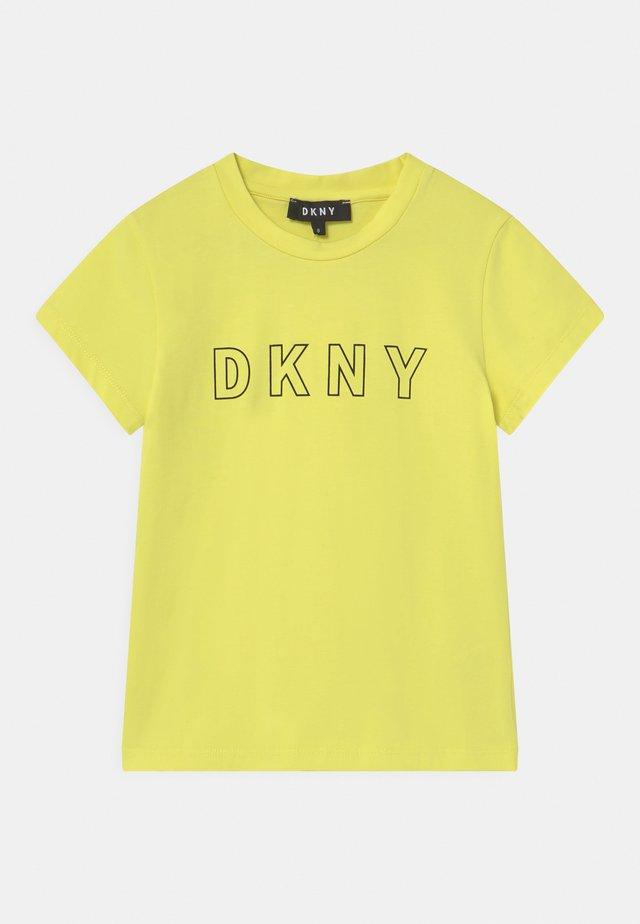 Print T-shirt - citrine