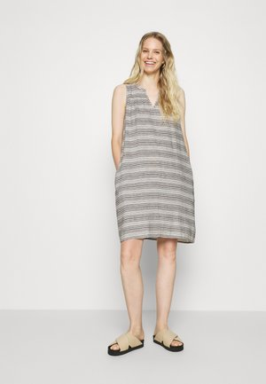 ZEN DRESS - Kjole - black/white