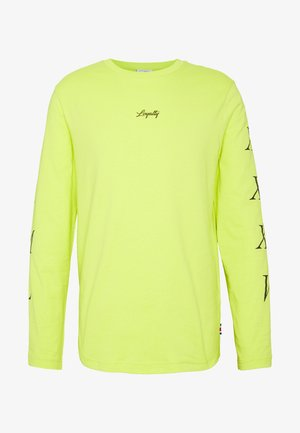 UNISEX LEWIS HAMILTON LONG SLEEVE - Long sleeved top - yellow