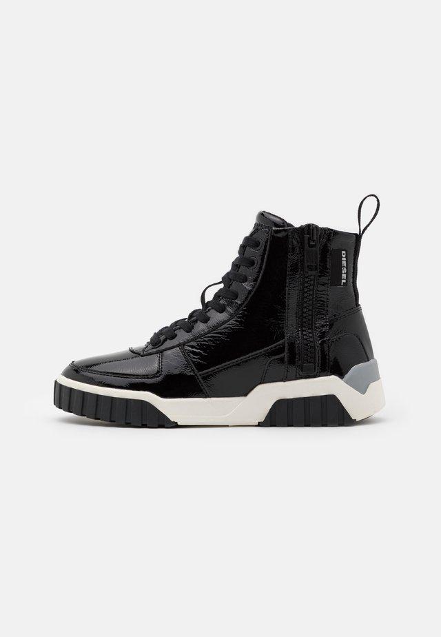 LE RUA S-RUA MC W SNEAKERS - Sneakers alte - black metallic