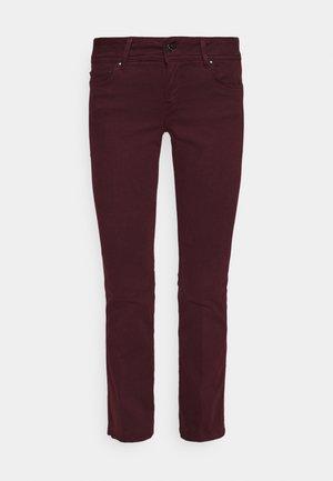 NEW PIMLICO - Trousers - dark plum