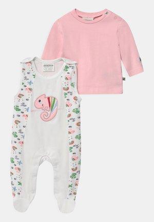 COLOUR UP MY LIFE - Pyjama set - light pink/white