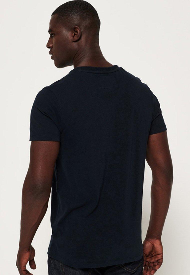 Superdry VINTAGE  - Basic T-shirt - dunkel marineblau FWDnm
