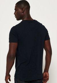 Superdry - VINTAGE  - Basic T-shirt - dunkel marineblau - 2
