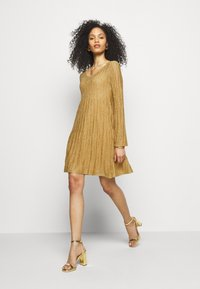 M Missoni - ABITO - Jumper dress - gold - 4