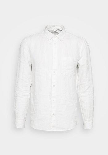 Linen Shirt - Skjorta - white
