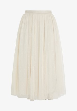 KISSES MIDAXI SKIRT - A-Linien-Rock - champagne