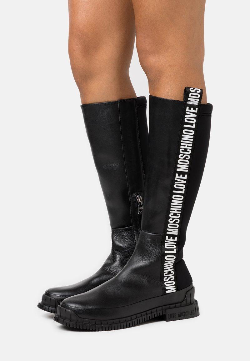 Love Moschino - STREET LOVE - Boots - black