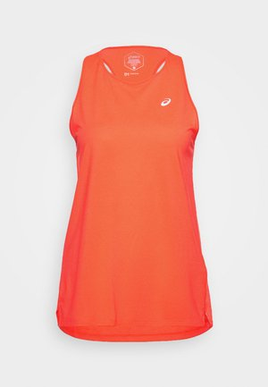 RACE SLEEVELESS - T-shirt de sport - flash coral