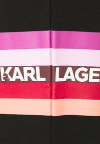 KARL LAGERFELD - STRIPE LOGO  - Tracksuit bottoms - black - 2