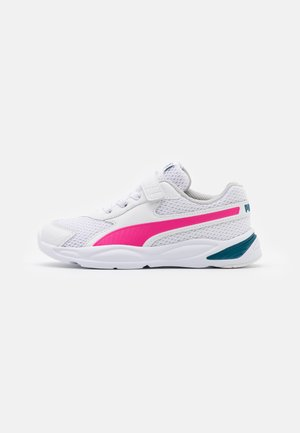 90S RUNNER AC UNISEX - Neutral running shoes - white/pink/blue