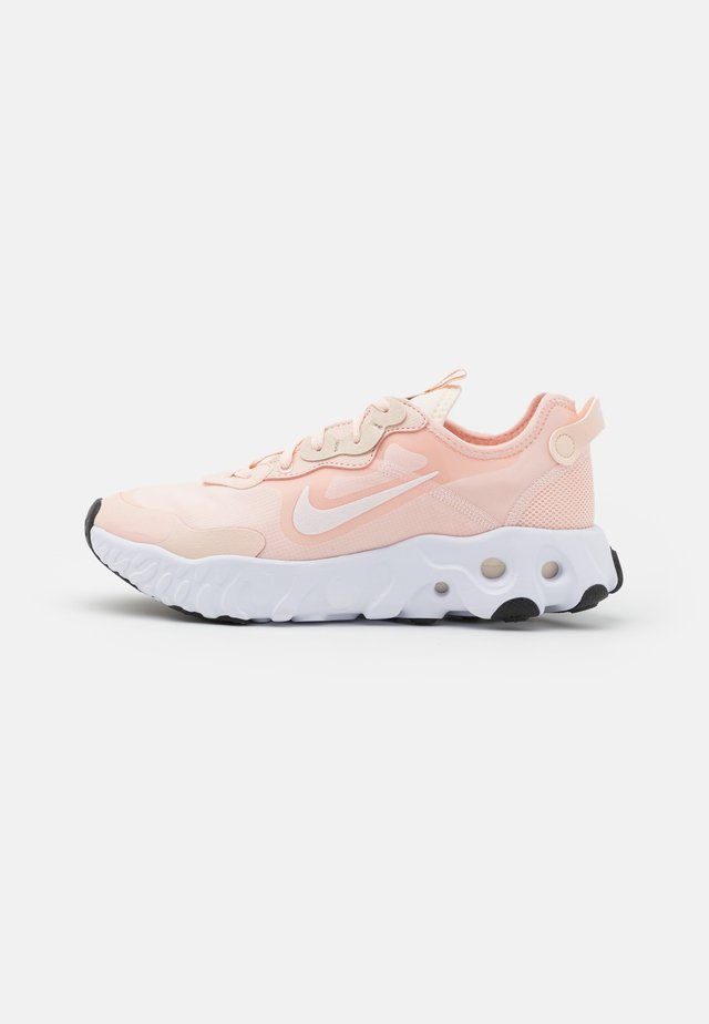 REACT ART3MIS - Trainers - orange pearl/white/pale ivory/pearl white/black