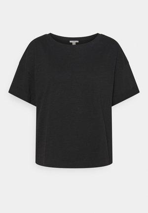 ICONIC - Jednoduché triko - black