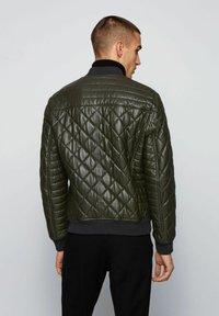 BOSS - JECEY - Leather jacket - open green - 2