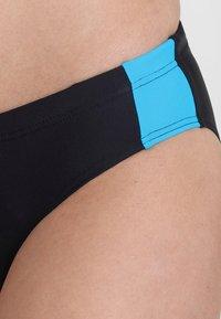 Arena - TWO PIECE SET - Bikini - black/pix blue/turquoise - 4