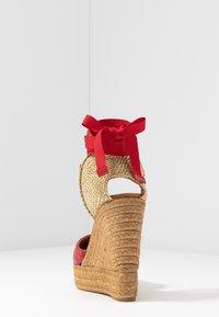 Kurt Geiger London - KARMEN - High heeled sandals - red - 5