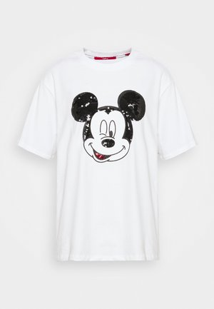 KURZARM - T-shirts med print - white