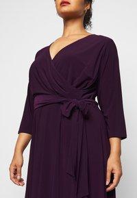 Lauren Ralph Lauren Woman - CARLYNA DAY DRESS - Jersey dress - raisin - 6