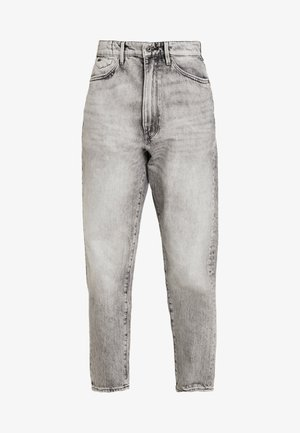 JANEH ULTRA HIGH MOM - Jeans Tapered Fit - sun faded basalt