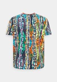 Carlo Colucci - BIG - Print T-shirt - white/multi - 1