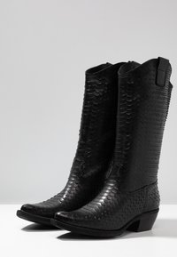 Felmini - EL PASO - Cowboy/Biker boots - naja/black - 4