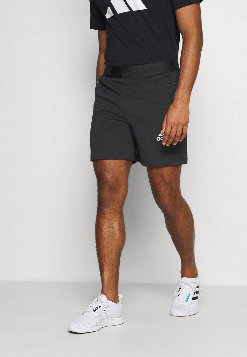 adidas Performance - Sports shorts - black
