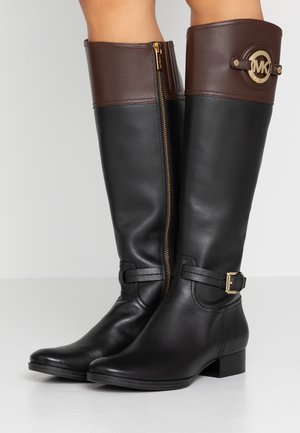 STOCKARD BOOT CONTRAST LOGO - Bottes - black/mocha