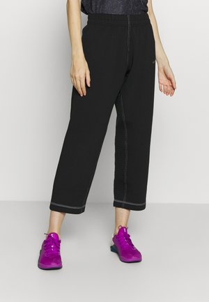 PANT - Trainingsbroek - black/metallic silver