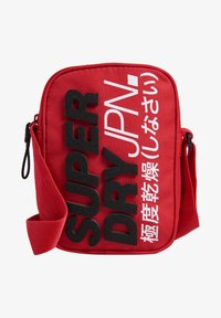Superdry - Across body bag - red - 1