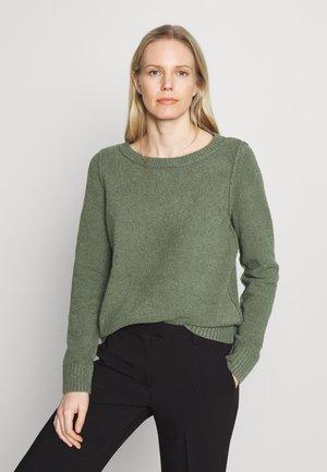 SLUBSEAMING - Jumper - khaki green