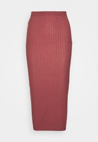 Missguided Tall - MIDI SKIRT - Pencil skirt - red - 0