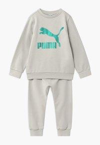 Puma - PUMA X ZALANDO BABY JOGG SET - Tepláková souprava - gray violet - 0
